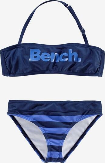 BENCH Bandeau-Bikini in blau / hellblau, Produktansicht