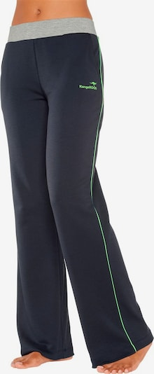 KangaROOS Hose in navy / grün, Produktansicht
