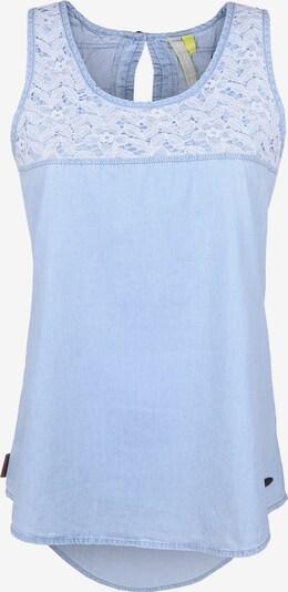 Alife and Kickin Bluse 'CARLA' in blue denim, Produktansicht