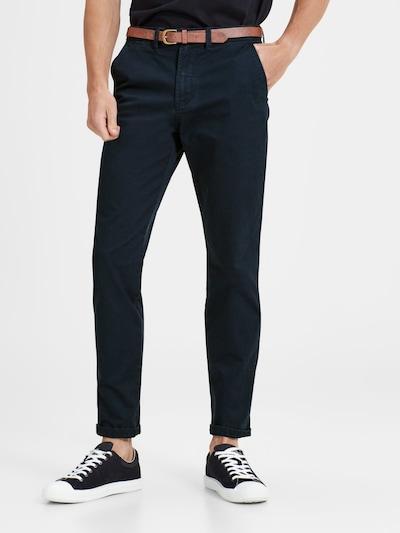 JACK & JONES Chino nohavice 'Cody Spencer' - námornícka modrá, Model/-ka