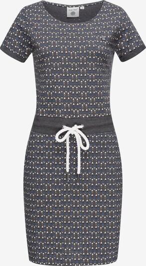 Peak Time Kleid in blau / hellgelb / dunkelgrau / weiß, Produktansicht