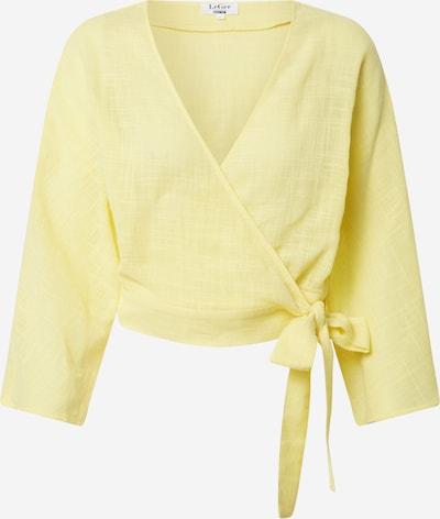 Bluză 'Alisha' LeGer by Lena Gercke pe galben: Privire frontală