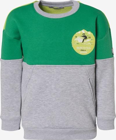 MEXX Sweatshirt in grau / grün, Produktansicht