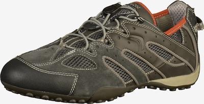 GEOX Sneaker 'Uomo Snake' in grau / greige / dunkelgrau, Produktansicht