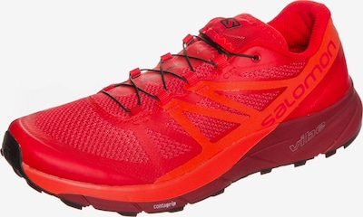 SALOMON Laufschuhe 'Sense Ride Trail' in rot, Produktansicht