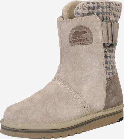 SOREL Sniega apavi 'Newbie', krāsa - bēšs / Sudrabs, Preces skats