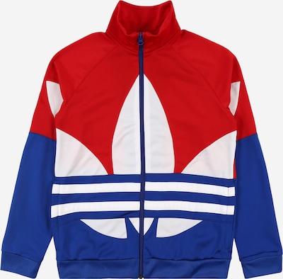 ADIDAS ORIGINALS Jacke 'Big Trefoil' in blau / rot / weiß, Produktansicht