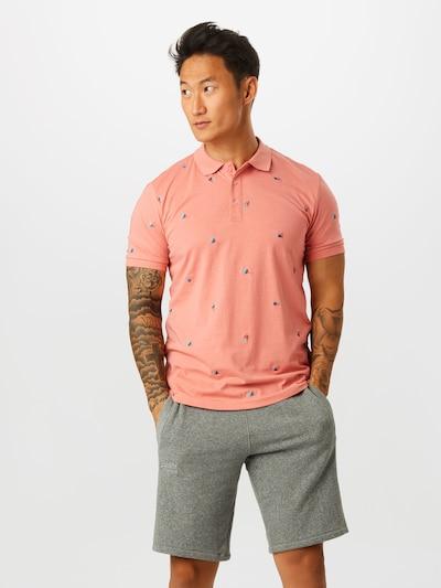 Only & Sons Shirt 'KRISTER' in de kleur Blauw / Lichtroze: Vooraanzicht