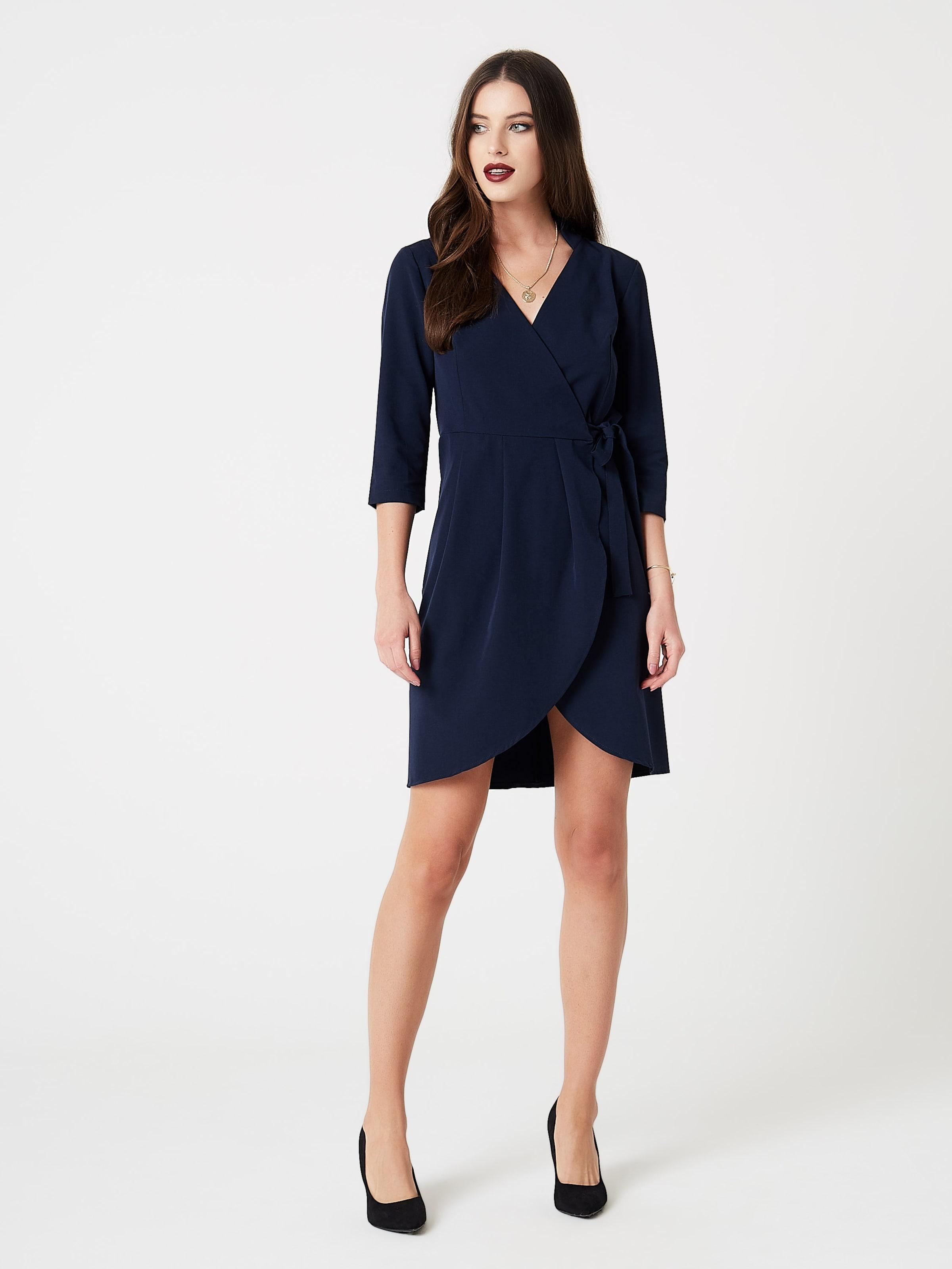 Foncé Robe En Faina Cocktail De Bleu FKl1Jc