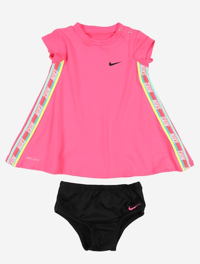 Nike Sportswear Kleid 'RAINBOW TAPING DRESS' in pink, Produktansicht