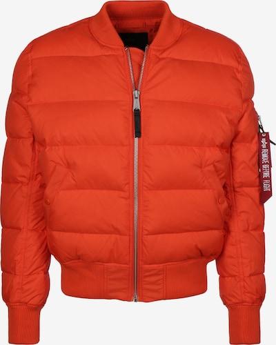 ALPHA INDUSTRIES Daunenjacke ' MA-1 Puffer ' in orange, Produktansicht