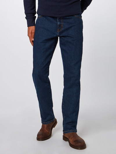 Jeans 'Texas Stretch' WRANGLER pe denim albastru, Vizualizare model