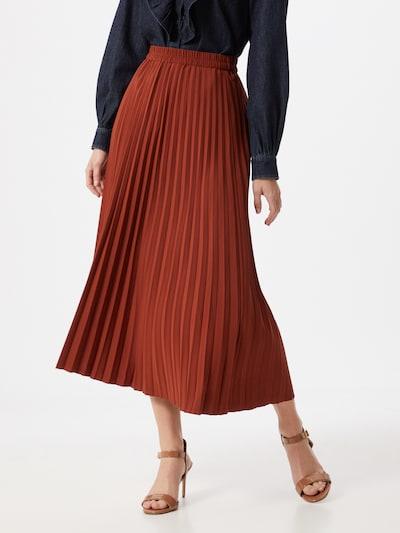 SELECTED FEMME Spódnica w kolorze rdzawoczerwonym, Podgląd na modelu(-ce)