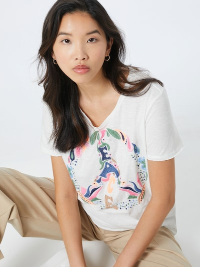 LIEBLINGSSTÜCK Koszulka w kolorze białym: Widok z przodu
