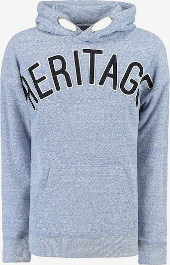 GARCIA Sweatshirt in nachtblau / hellblau, Produktansicht