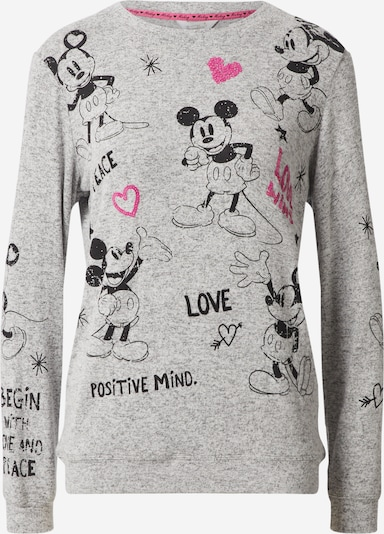 Frogbox Sweat-shirt en gris / rose / noir, Vue avec produit