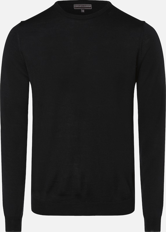 Finshley & Harding Pullover in nachtblau: Frontalansicht