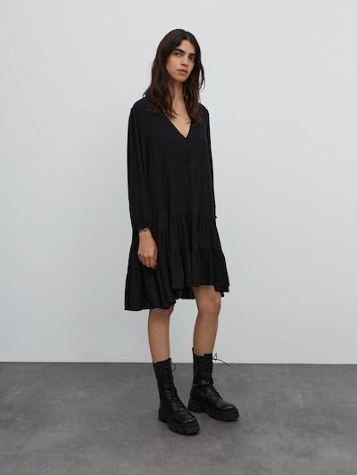 EDITED Kleid 'Eileen' in schwarz, Modelansicht