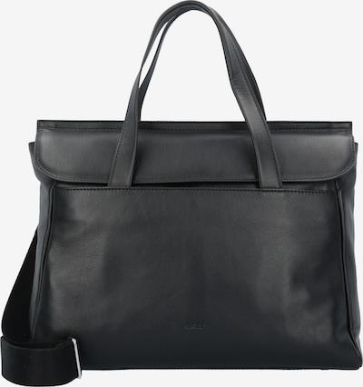 BREE 'Stockholm 45' Handtasche Leder 38 cm Laptopfach in schwarz, Produktansicht