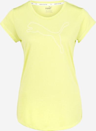 PUMA Majica | neonsko rumena barva, Prikaz izdelka