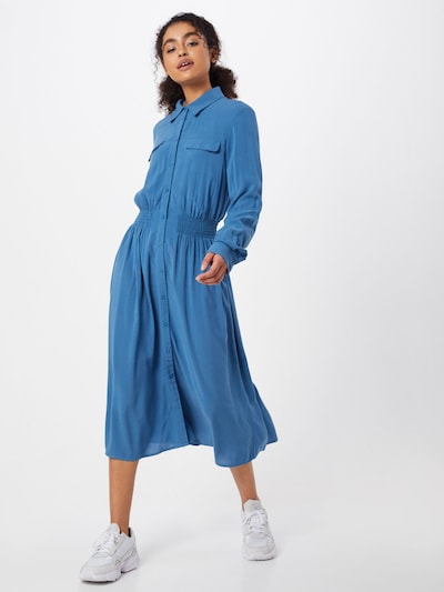 MOSS COPENHAGEN Kleid 'Caddy Beach' in blau, Modelansicht