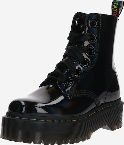 Dr. Martens Stiefelette 'Molly Rainbow' in schwarz, Produktansicht