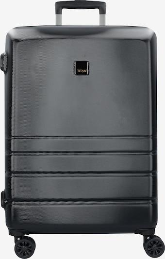 TITAN Trolley 'Liverpool' (75 cm) in schwarz, Produktansicht
