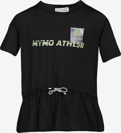 myMo ATHLSR Shirt in grün / apfel / schwarz, Produktansicht