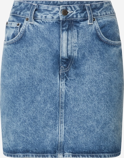 AMERICAN VINTAGE Rock 'WIPY' in blue denim, Produktansicht