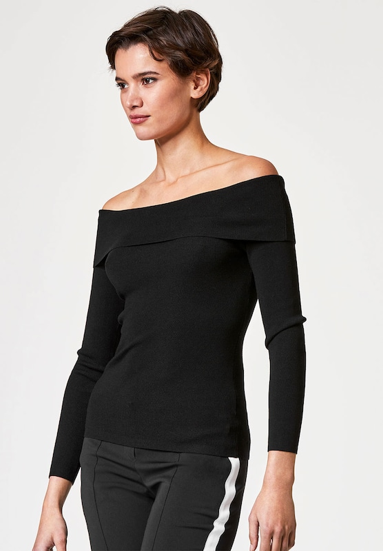 HALLHUBER Off-Shoulder-Pullover
