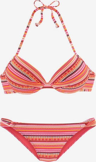LASCANA Bikinitop in orange, Produktansicht