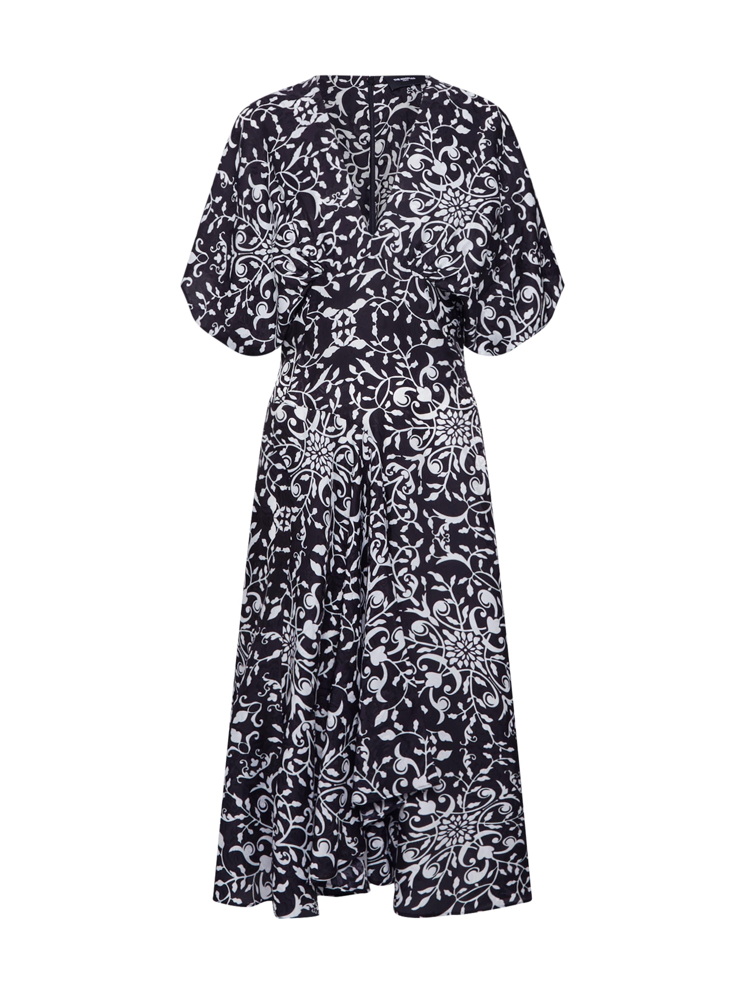 'frob19002k' Kooples Kleid In SchwarzWeiß The lFTJcuK13