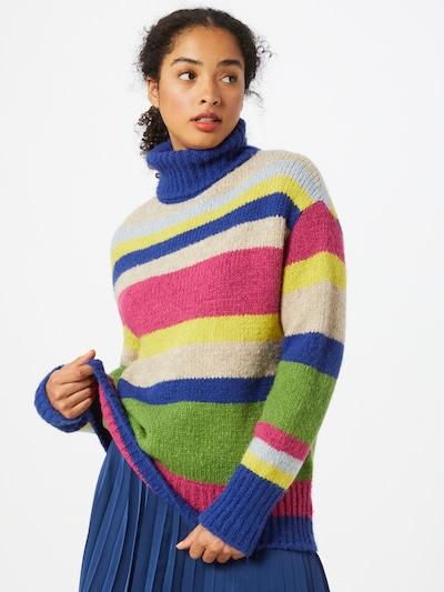 Guido Maria Kretschmer Collection Džemperis 'Sila' zils / jauktu krāsu / rozā, Modeļa skats