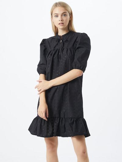SISTERS POINT Kleid in schwarz: Frontalansicht