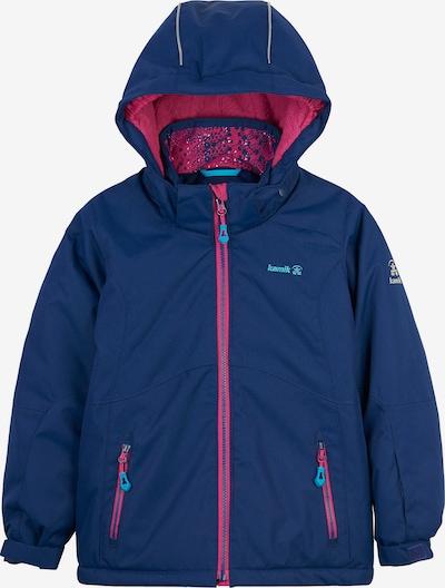 Kamik Skijacke 'Maeve' in blau / pink, Produktansicht