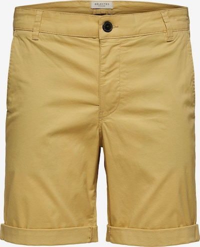 SELECTED HOMME Chinoshorts in gelb, Produktansicht