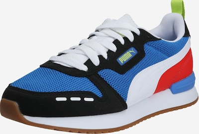 PUMA Sneakers laag 'R78' in de kleur Champagne / Blauw / Rood, Productweergave