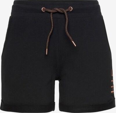 HIS JEANS Shorts in schwarz, Produktansicht
