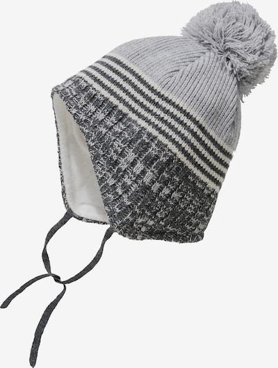 STERNTALER Mütze in grau / dunkelgrau: Frontalansicht