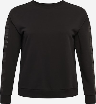 Guido Maria Kretschmer Curvy Collection Sweatshirt 'Naomi' in de kleur Zwart, Productweergave