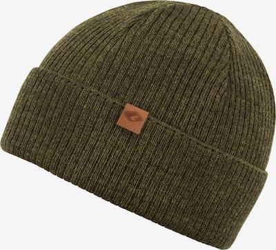 Megzta kepurė 'Dominik' iš chillouts , spalva - tamsiai žalia: Vaizdas iš priekio