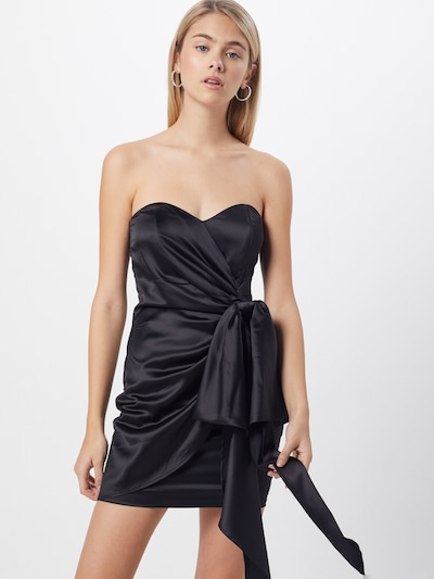 Bardot Kleid 'HILARY' in schwarz, Modelansicht