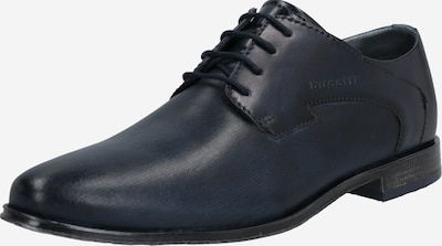 bugatti Buty sznurowane w kolorze ciemny niebieskim: Widok z przodu