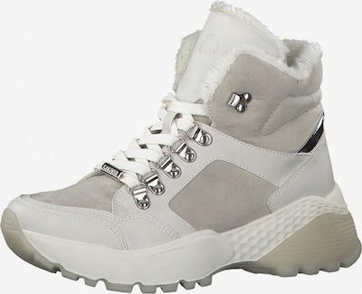 s.Oliver Boots in hellgrau / offwhite, Produktansicht