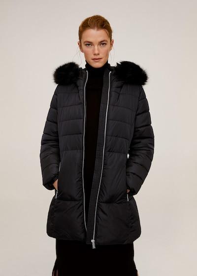MANGO Anorak 'Anie' in schwarz, Modelansicht
