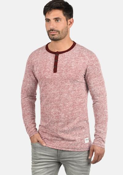 !Solid Rundhalsshirt 'Telias' in rosé: Frontalansicht