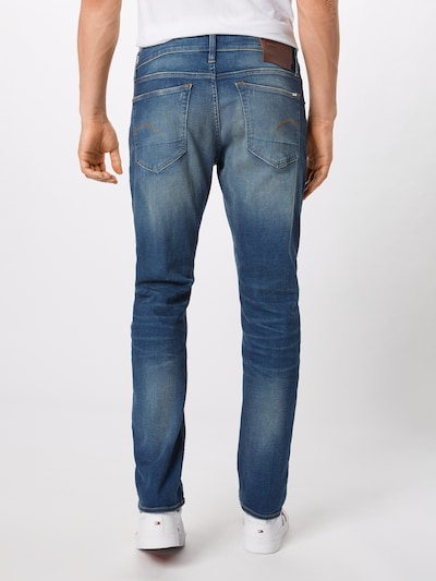 G-Star RAW Jean '3301' en bleu denim: Vue de dos