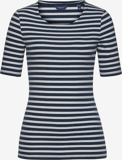 GANT Shirt in nachtblau / weiß, Produktansicht