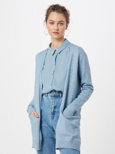 VILA Cardigan 'Ril' in hellblau, Modelansicht