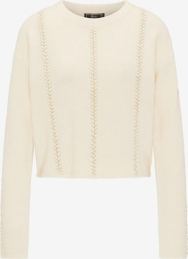 faina Pullover in beige / goldgelb, Produktansicht